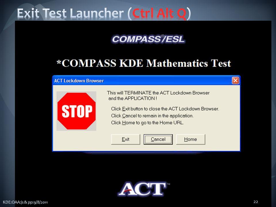 KDE:OAA:js & pp:9/8/2011 22