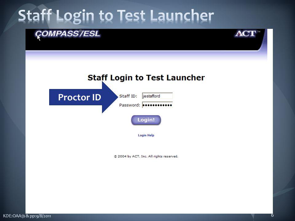 6 Proctor ID