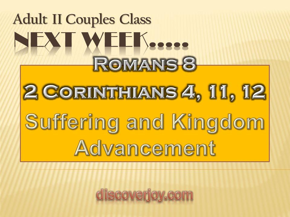 Adult II Couples Class