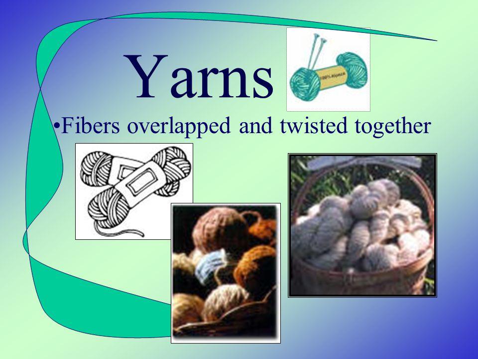 Types Acetate Acrylic Nylon Polyester Rayon Spandex Triacetate