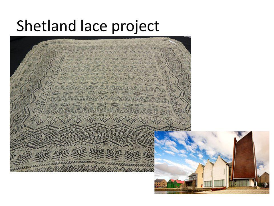 Shetland lace project