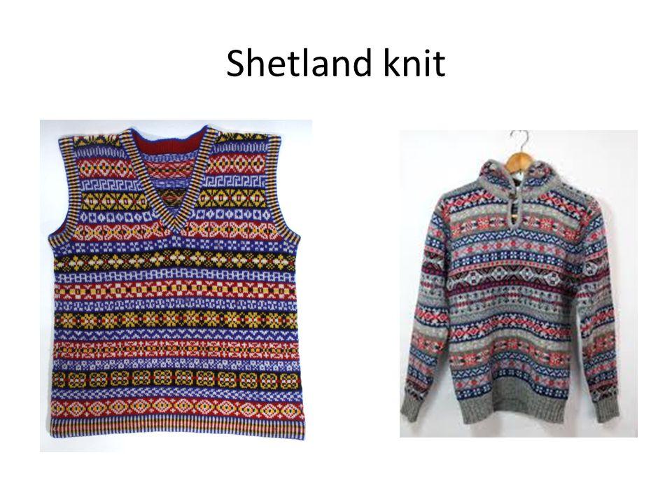 Shetland knit