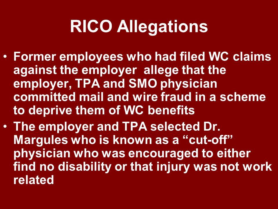 Brown et al v. Cassens Transport Co., et al U.S. 6 th Circuit [writ denied by U.S. Sup. Ct.12/7/09] Plaintiffs – Employees of Cassens who made WC clai
