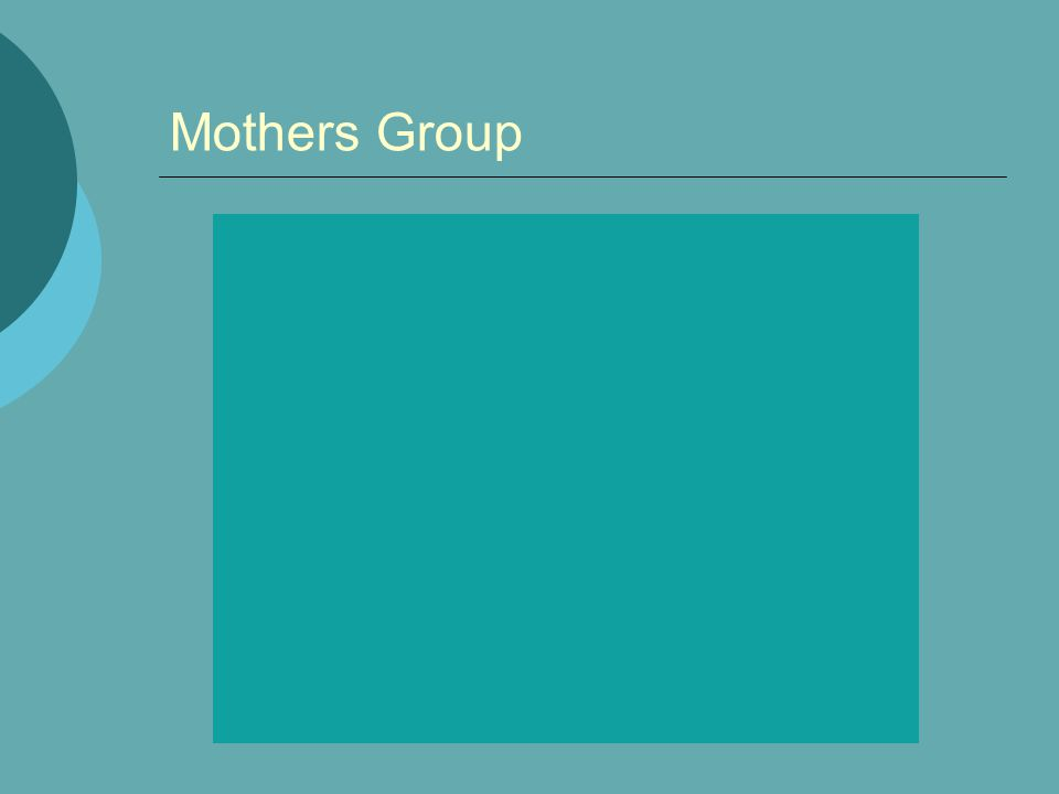 Mothers Group