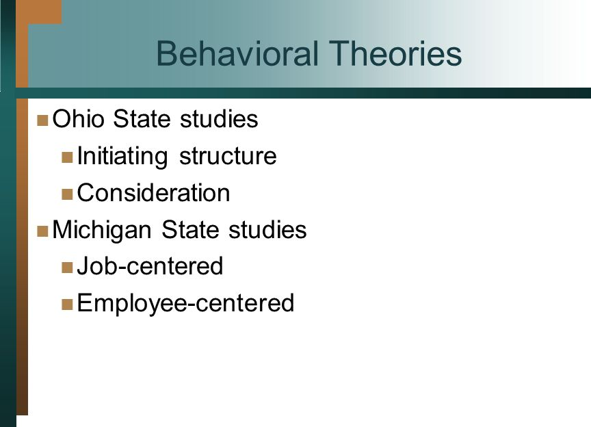 Four Leadership Styles Derived from the Ohio State Studies LowHigh Initiating Structure Low High Consideration Low Structure, High Consideration High Structure, High Consideration Low Structure, Low Consideration High Structure, Low Consideration 17-8 Figure 17-2 McGraw-Hill © 2004 The McGraw-Hill Companies, Inc.