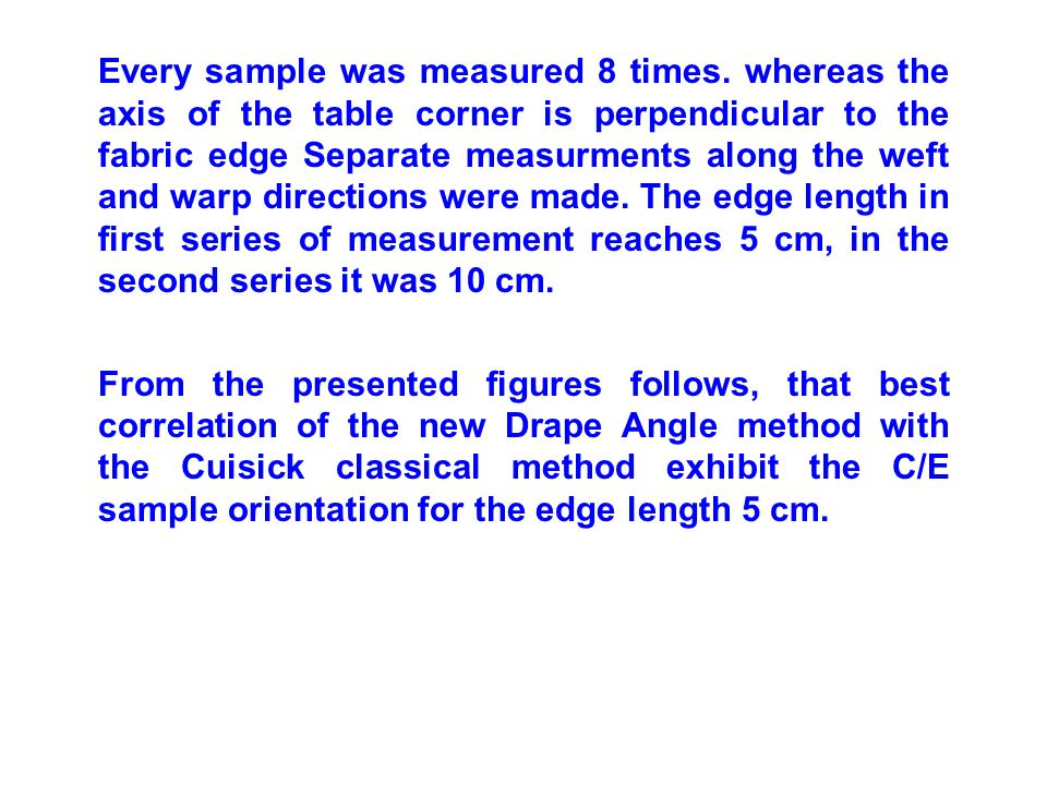Every sample was measured 8 times.