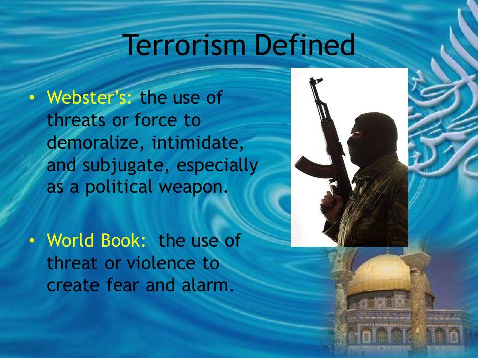 Terrorist Profile: Old vs.