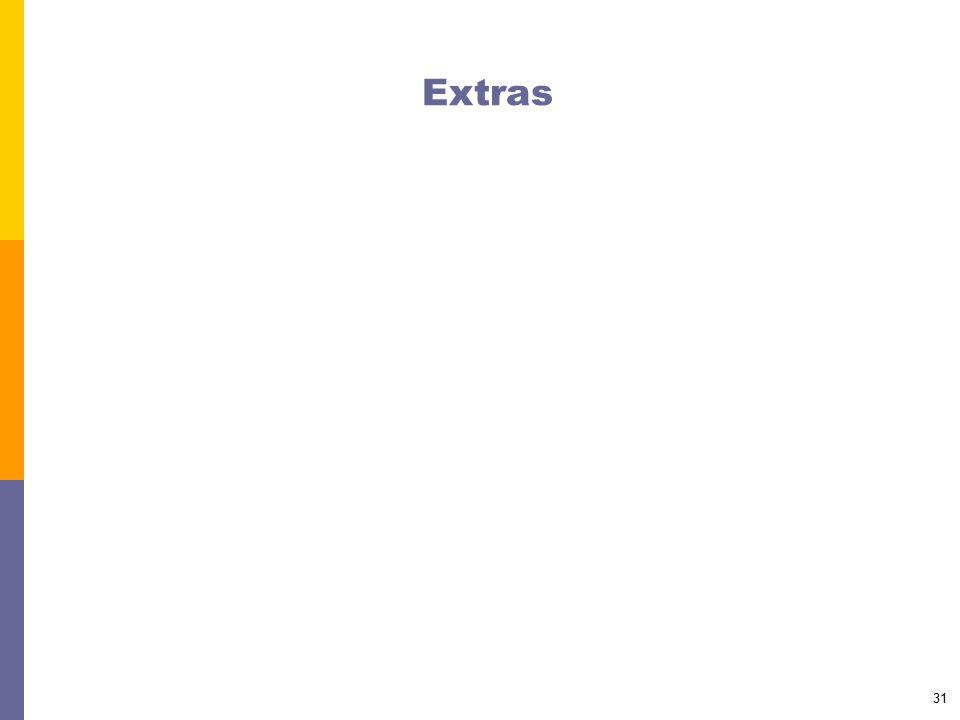 31 Extras