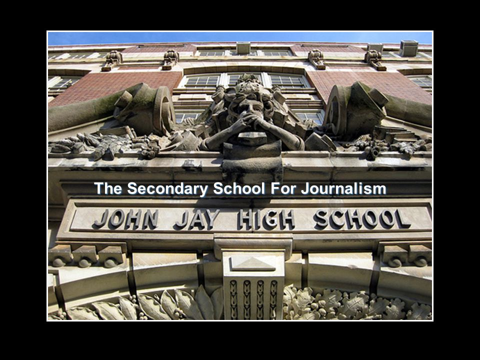 The Secondary School For Journalism
