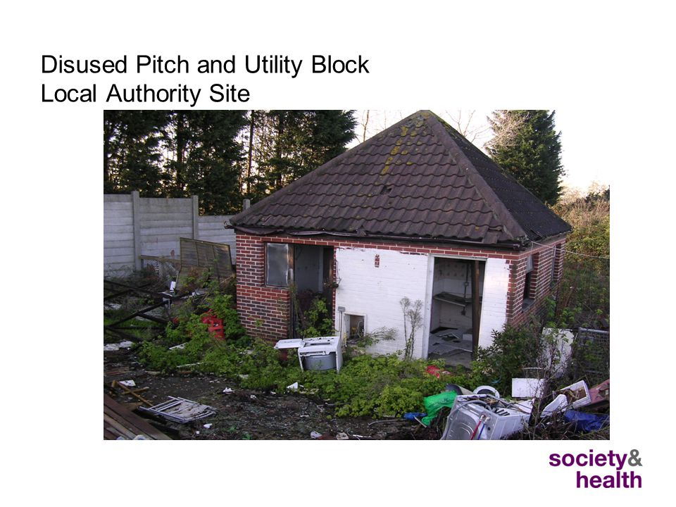 Disused Pitch and Utility Block Local Authority Site