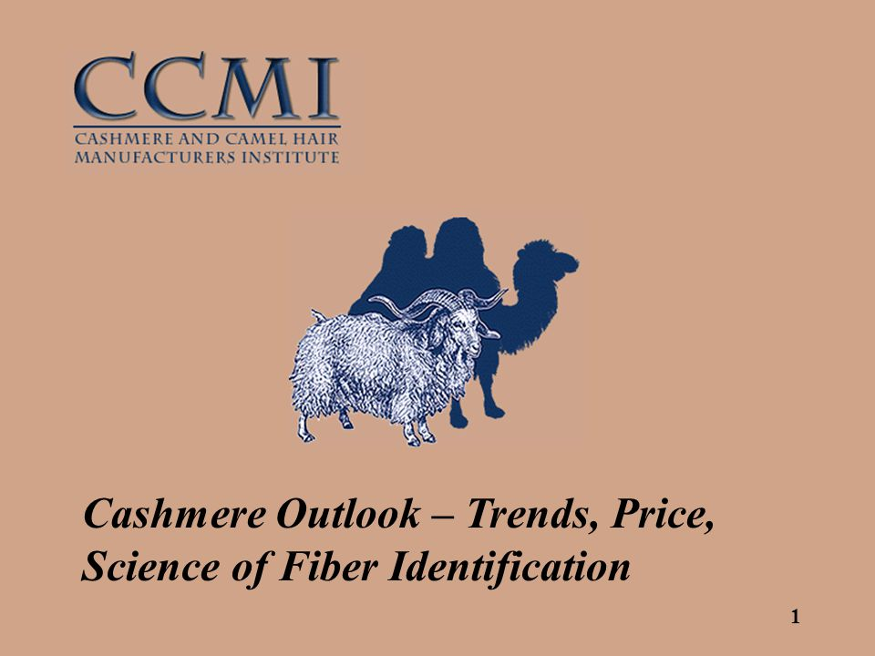 1 Cashmere Outlook – Trends, Price, Science of Fiber Identification