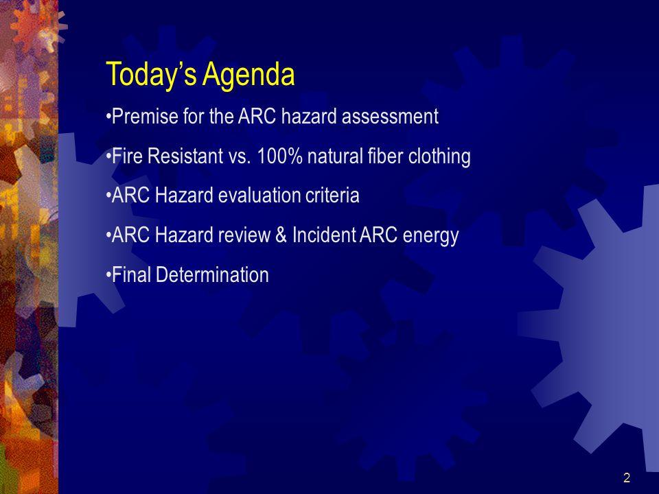 23 Revised 12 ARC Hazard Data