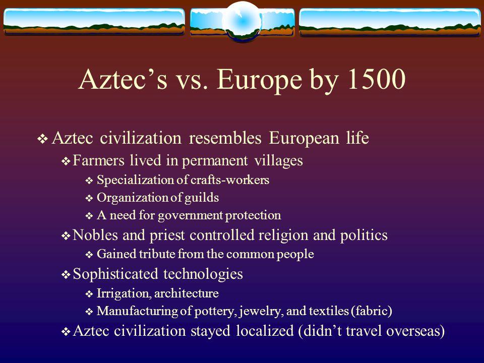 Aztec's vs.