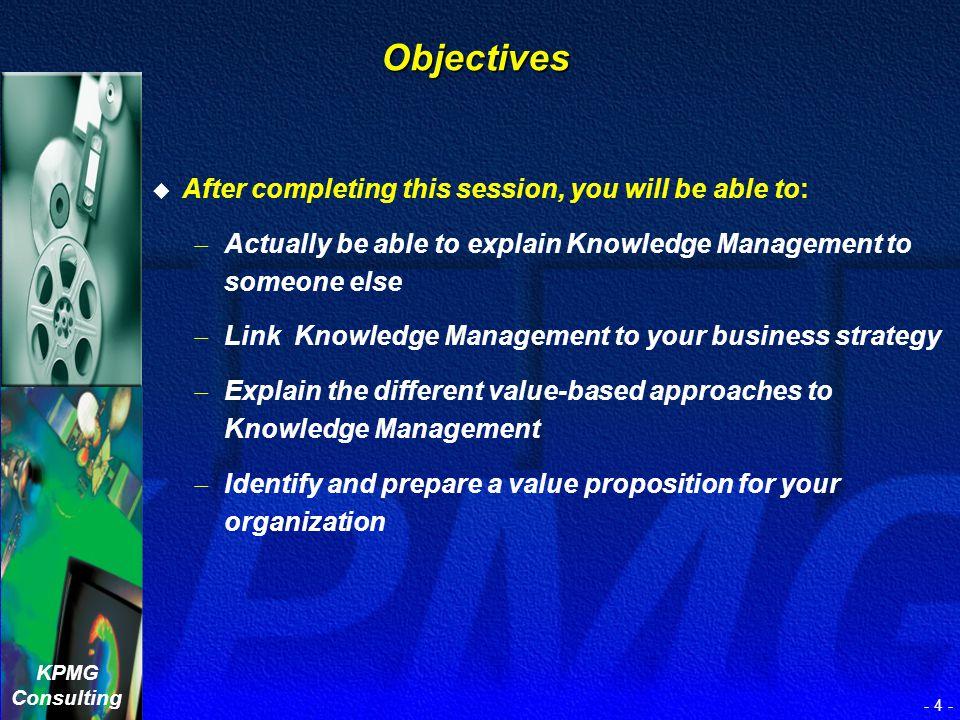 KPMG Consulting - 3 - Renee A. Massoud Director KPMG Research Strategies rmassoud@kpmg.com Renee A. Massoud Director KPMG Research Strategies rmassoud