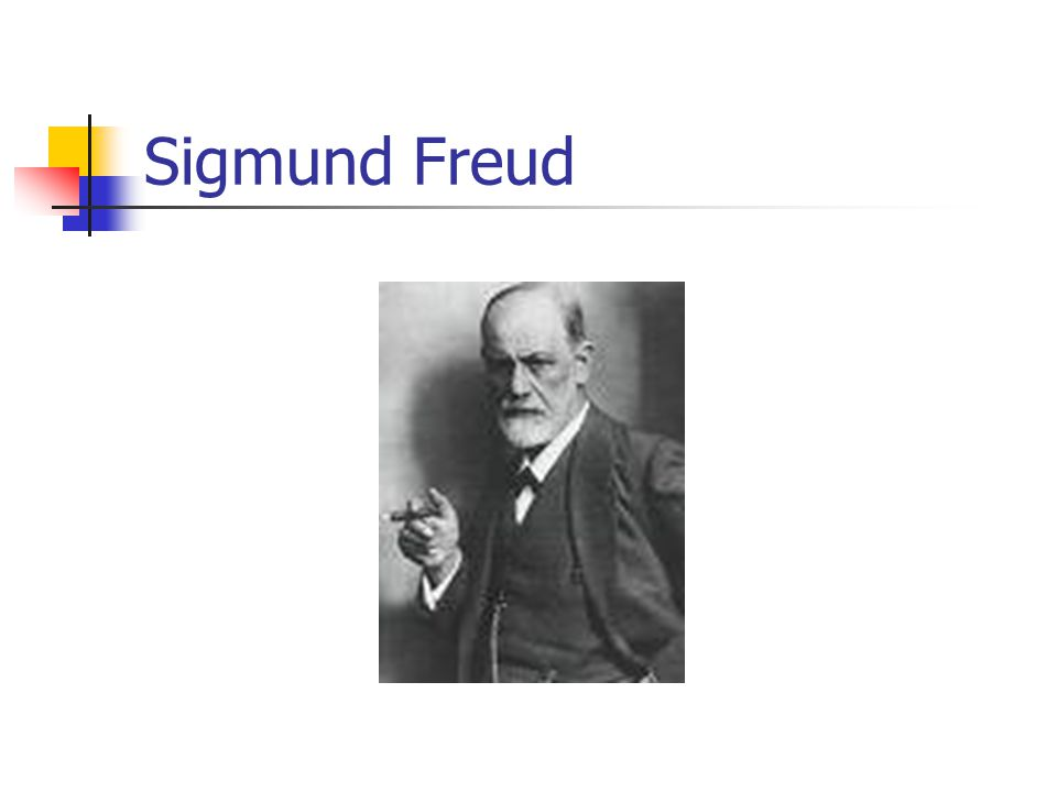 Freud People try to maximize their happiness the pleasure principle Infants want their mother's breast, but it is not always available This perception  distinction between self (ego) and the external world The reality principle – you can't always get satisfaction