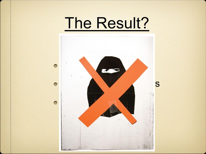 The Result? Violence Misleading stereotypes Discrimination