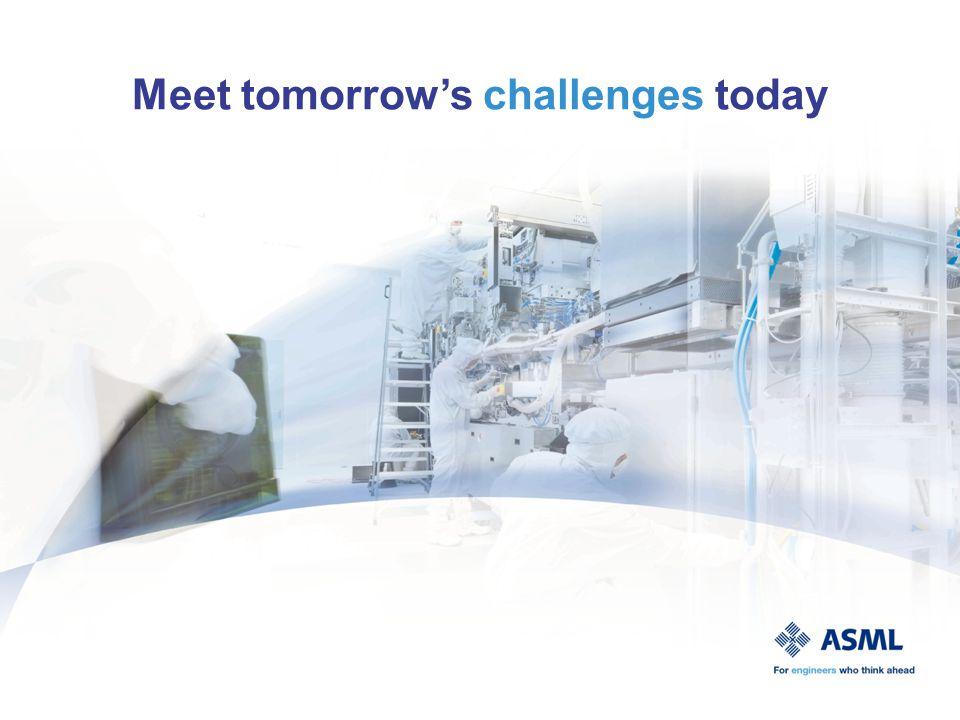 Technical Challenge - Personal development - Multidisciplinairy teams Who is ASML.