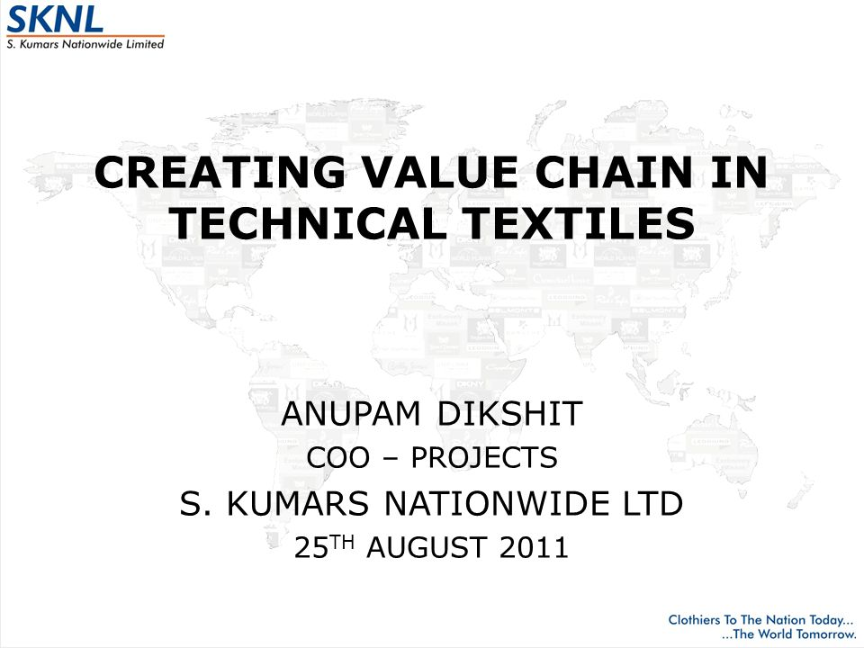 WHAT IS TECHNICAL TEXTILES Any textiles where function comes first and only then criteria like price and usually not aesthetics Used by other industries for their specific physical and functional properties their end products Not fashion oriented and not seasonal