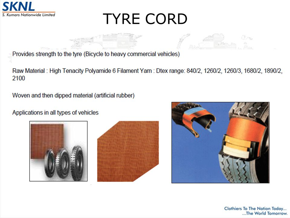 TYRE CORD