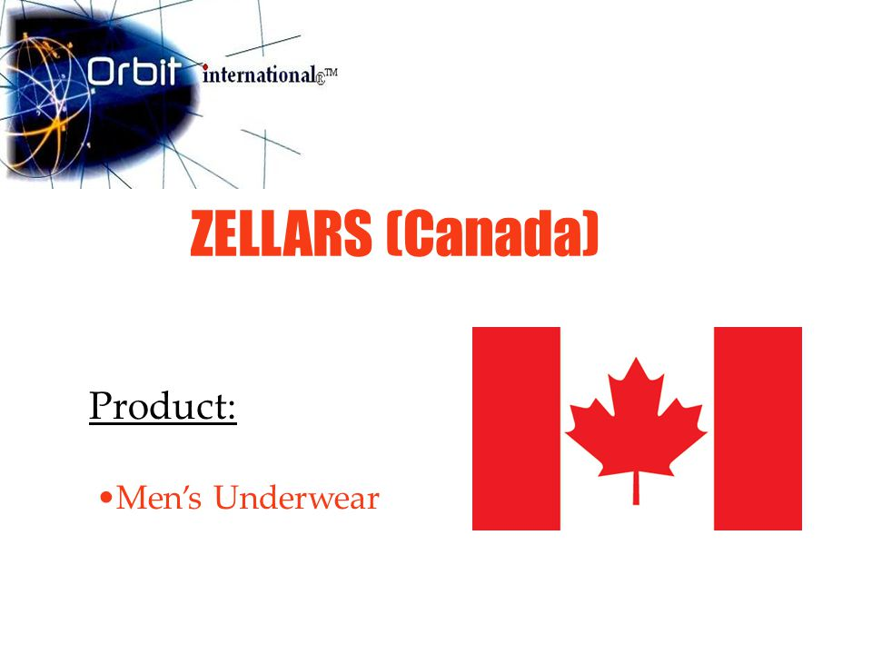 ZELLARS (Canada) Product: Men's Underwear
