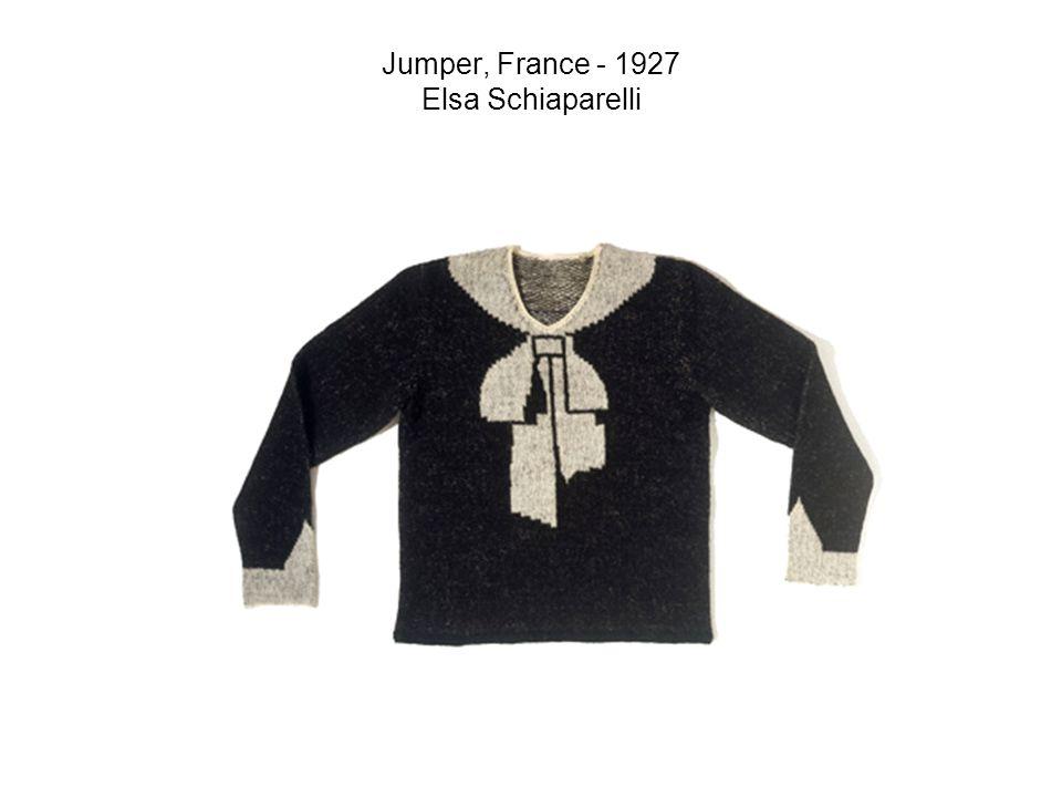 Jumper, France - 1927 Elsa Schiaparelli