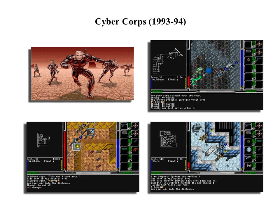 Cyber Corps (1993-94)