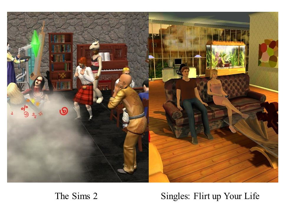 The Sims 2Singles: Flirt up Your Life