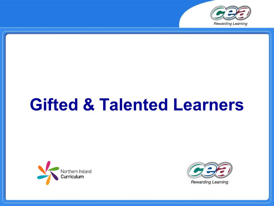 Gifted & Talented Learners