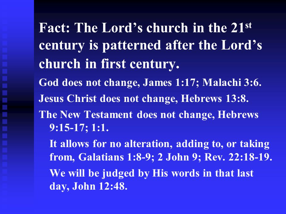 Conclusion: Four things that will kill a church – false teaching, division, worldliness, and indifference.