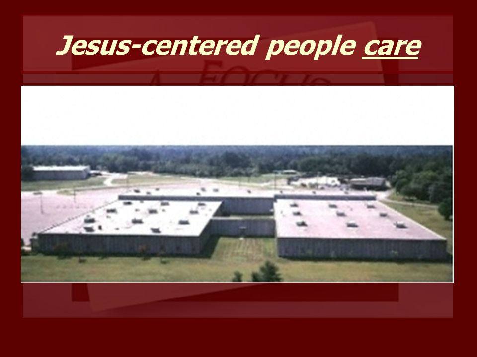 Jesus-centered people care