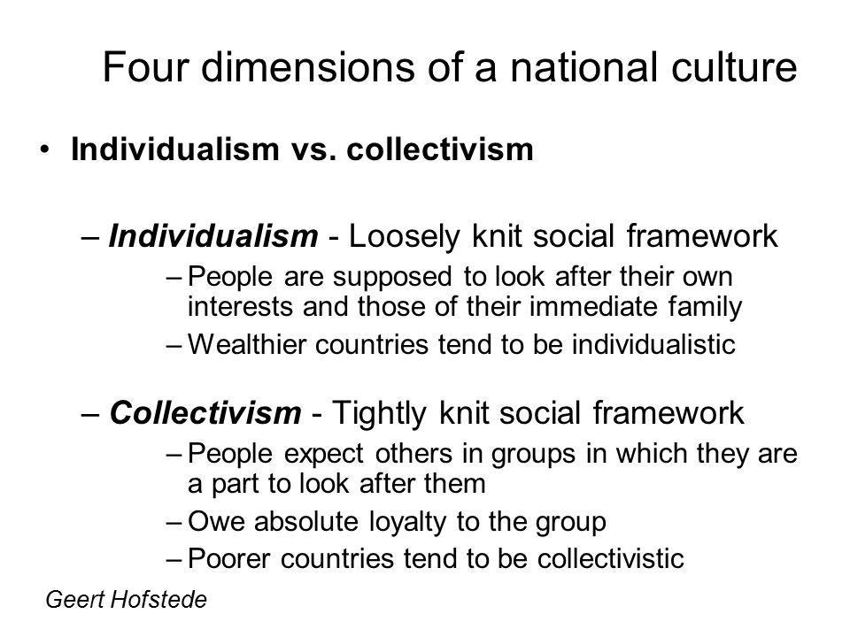 Individualism vs.