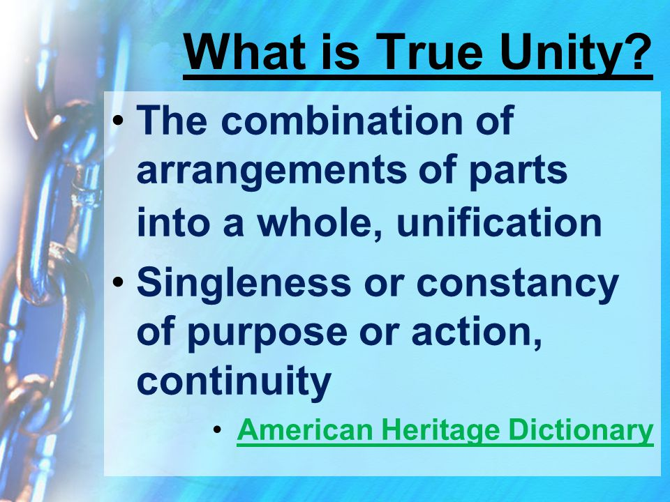 What is True Unity.
