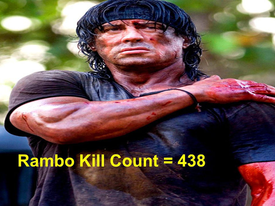 Rambo Kill List = 438 Rambo Kill Count = 438