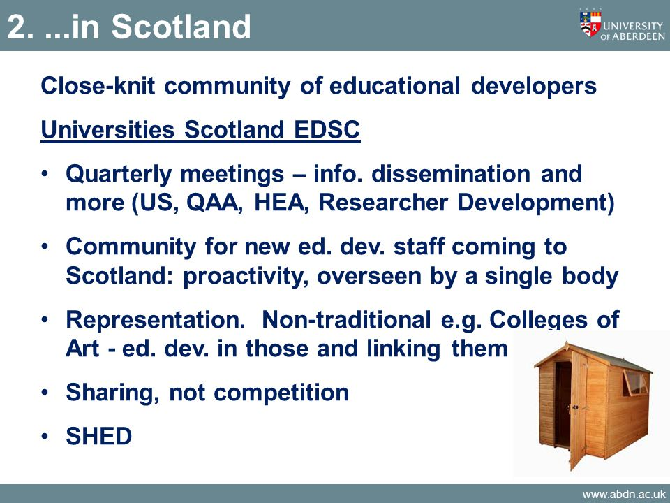 www.abdn.ac.uk Findings – Research excellence framework Intending to submit to REF.