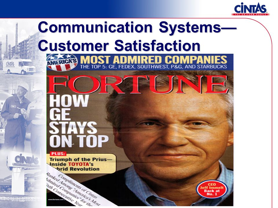Communication Systems— Customer Satisfaction