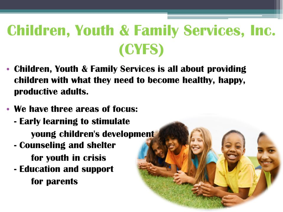 Children, Youth & Family Services, Inc.