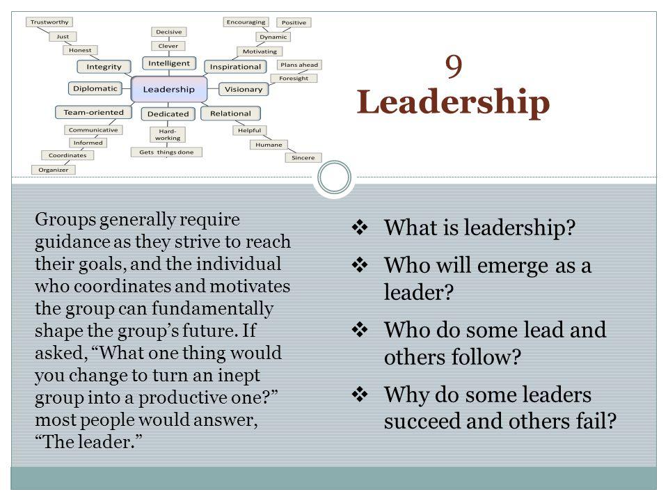The Nature of Leadership Leadership Myths What is Leadership.