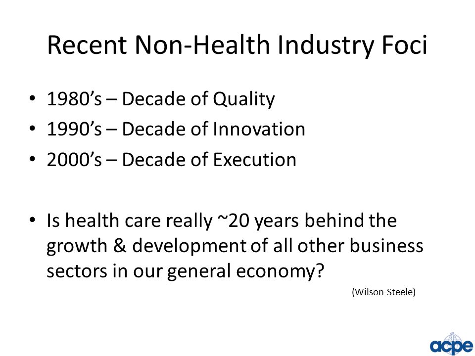 Role of Academia in the Future of Health Care: Must Present a Global View Teach End-to-End Portrait of Health Care Enable Critical Business Thinking Use of Field-Based & Case-Based Learning Mentoring Strategies Facilitate Interactions with Real World Peers Acceptance of Health Care Paradox 53 Global Health Care CEO's R.