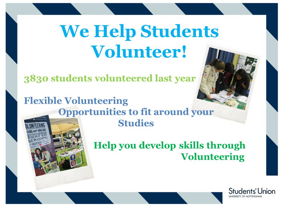 We Help Students Volunteer.