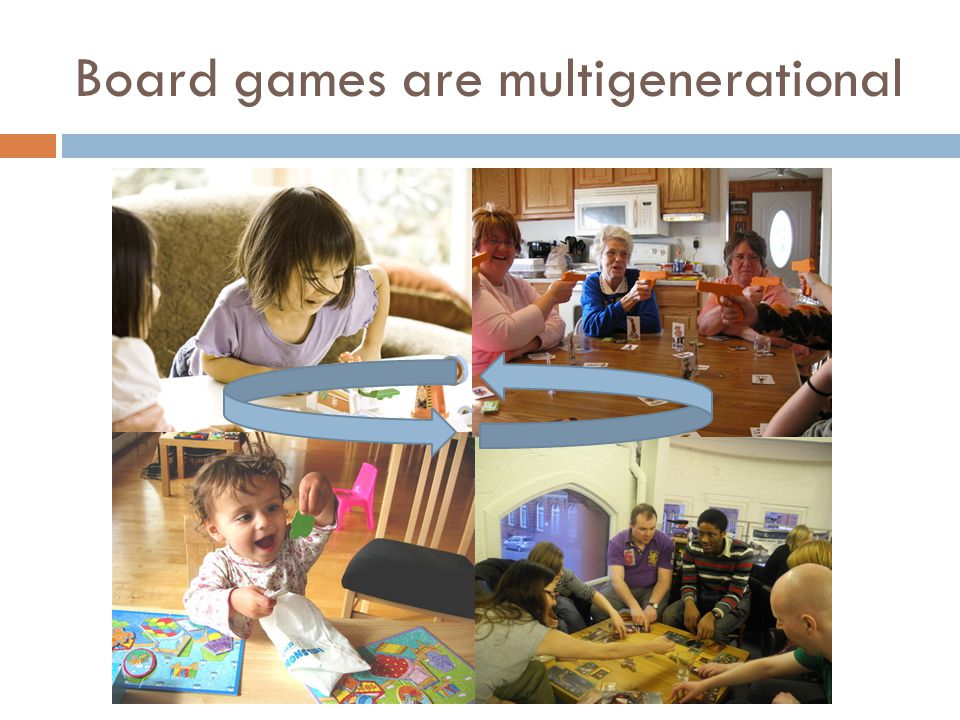 Board games are multigenerational