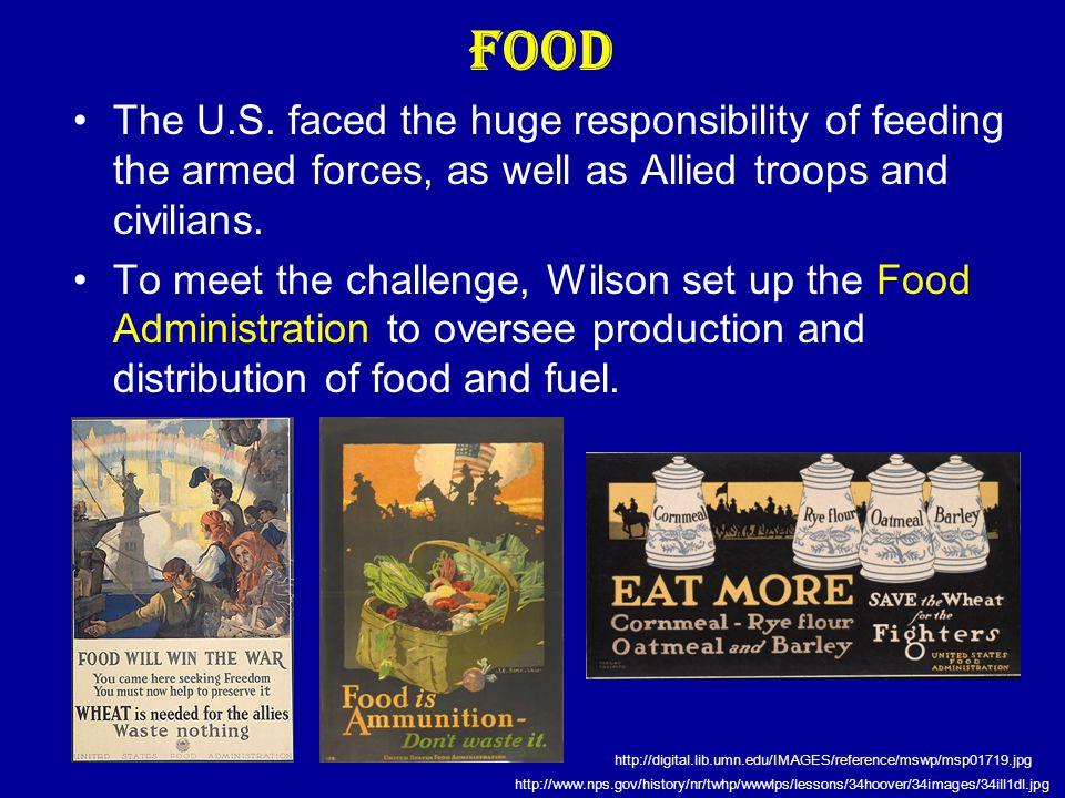 Food The U.S.