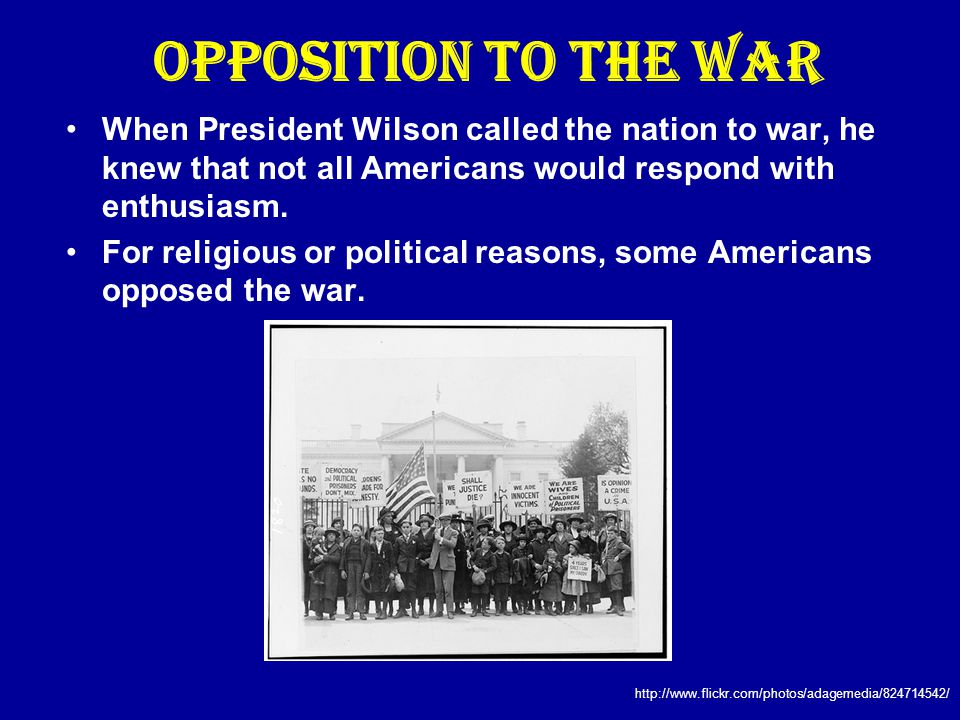 Restriction of Rights Pacifists are people who for political, moral, or religious reasons oppose all wars.