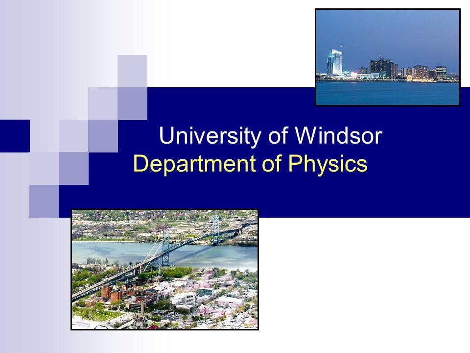 www.uwindsor.ca/physics university degrees (research) computational physics.