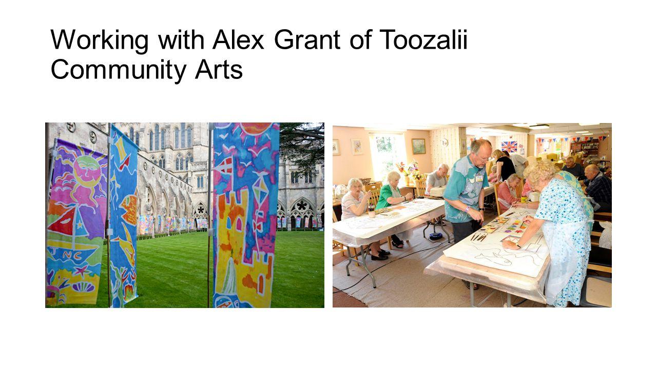Working with Alex Grant of Toozalii Community Arts