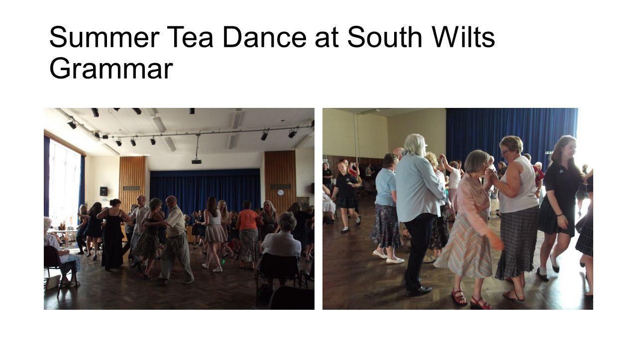 Summer Tea Dance at South Wilts Grammar