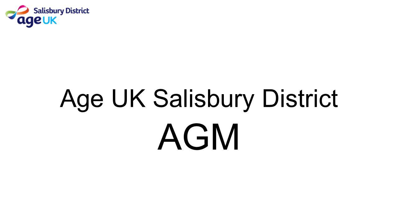 Age UK Salisbury District AGM