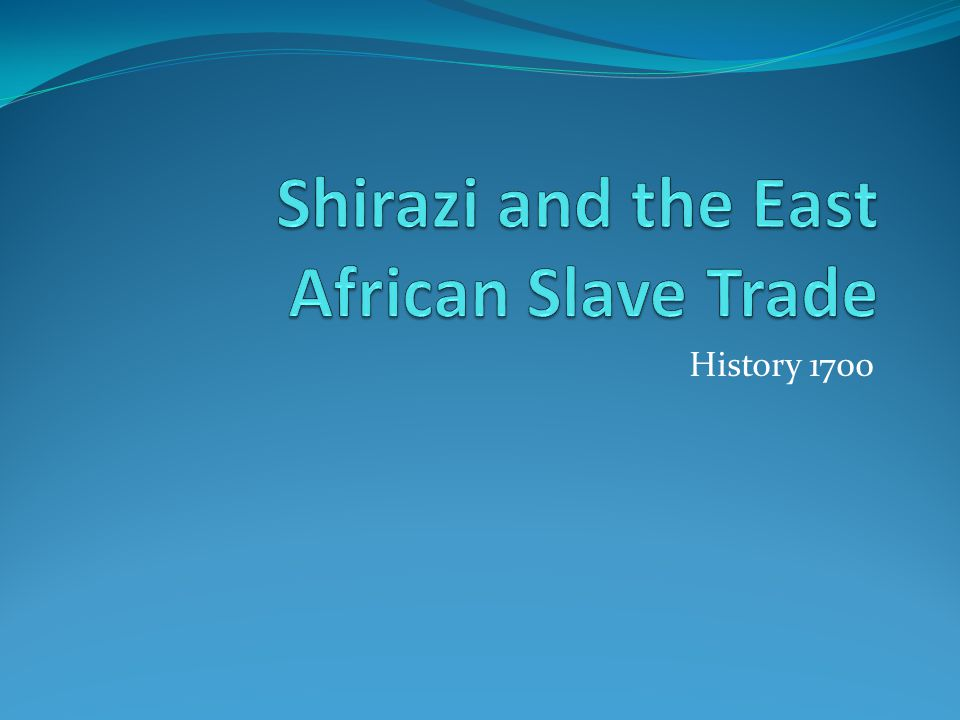 Conclusion Emergence of Arab control on the coast reinforced and stimulated pre-existing global trade patterns, expanded demand for slaves from interior with plantation slavery.