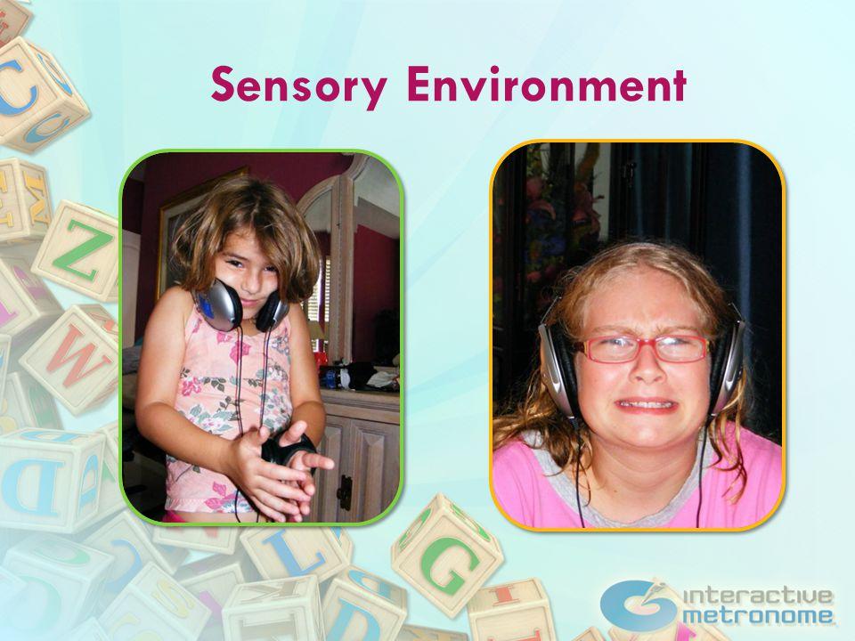 Sensory Environment