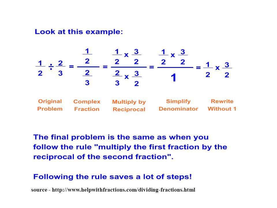 source - http://www.helpwithfractions.com/dividing-fractions.html