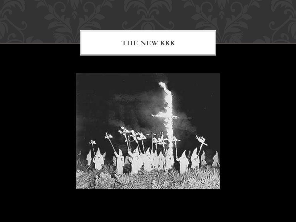 THE NEW KKK